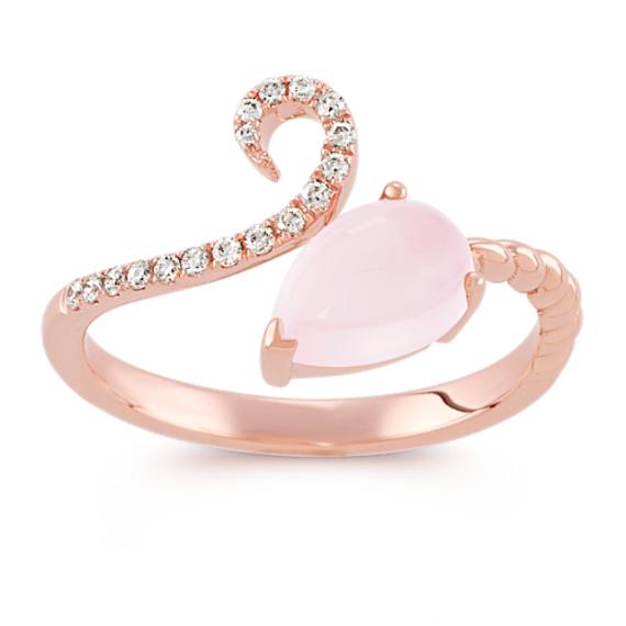 Resultado de imagen para Pink quartz engagement rings