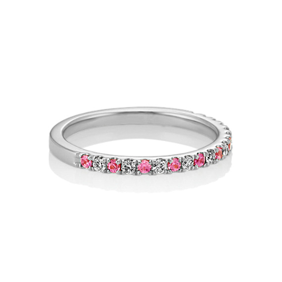 Gemstone Stunning New Pink Sapphire Sterling Silver Ring Size L Complete Range Of Articles