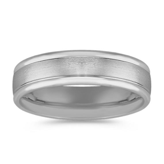 Platinum Comfort Fit Ring (6mm)