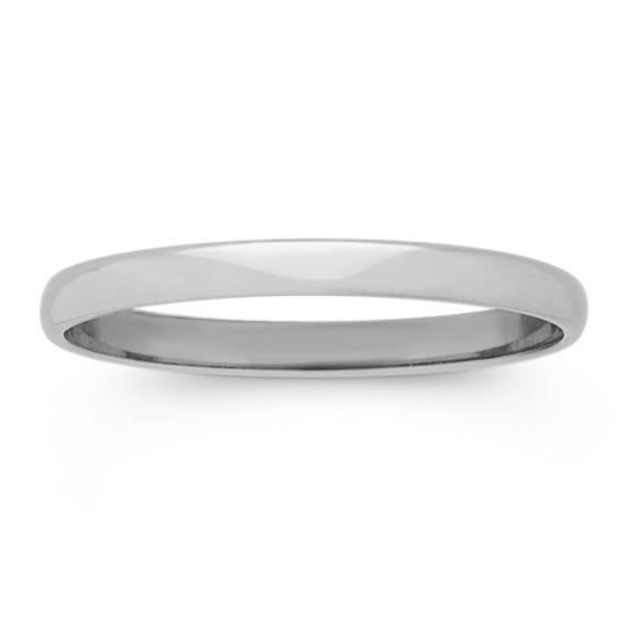 Platinum Wedding Band (2mm)