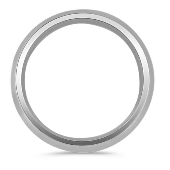 Polished Titanium Ring (7mm) image