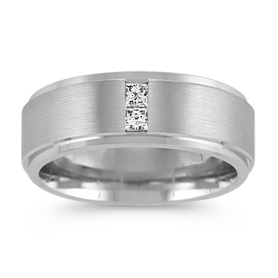 Princess Cut Diamond Ring (8mm)