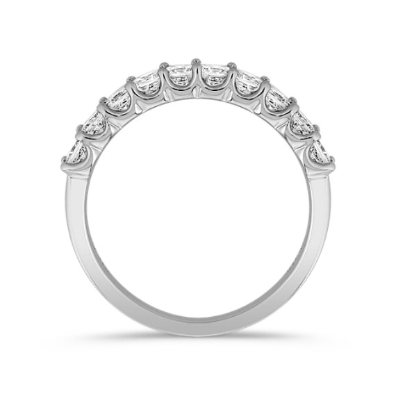 Princess Cut Diamond Wedding Band image