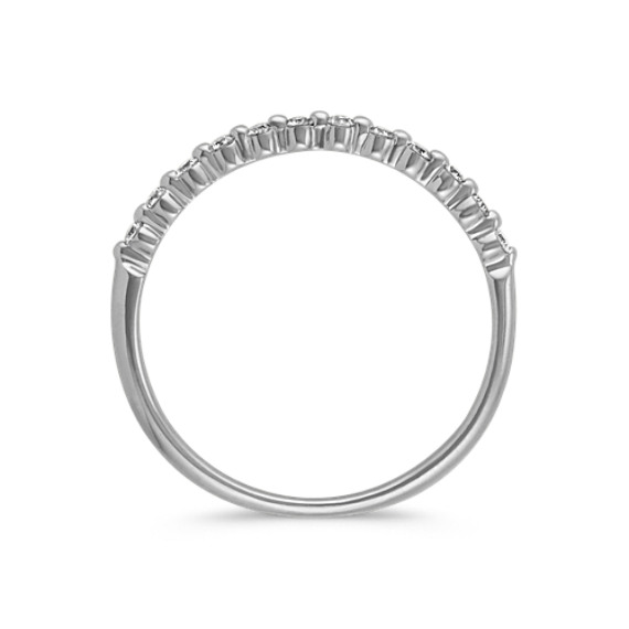 Round Diamond Wedding Band Shane Co
