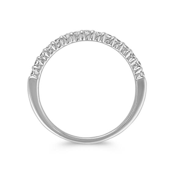 Round Diamond Wedding Band image