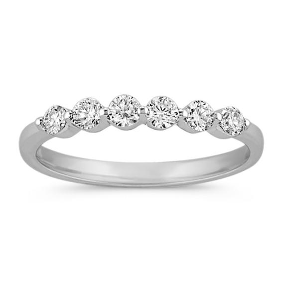 SixStone Round Diamond Wedding Band Shane Co