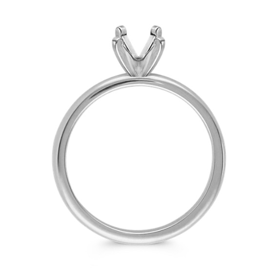 Solitaire 14K White Gold Engagement Ring image