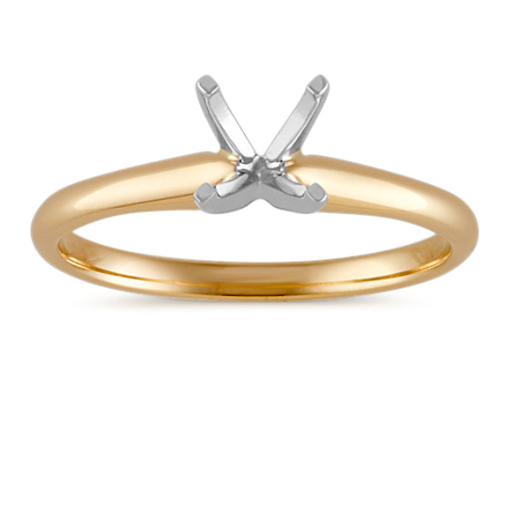 Solitaire Engagement Ring in 14k White Gold  e9e49e3f022a