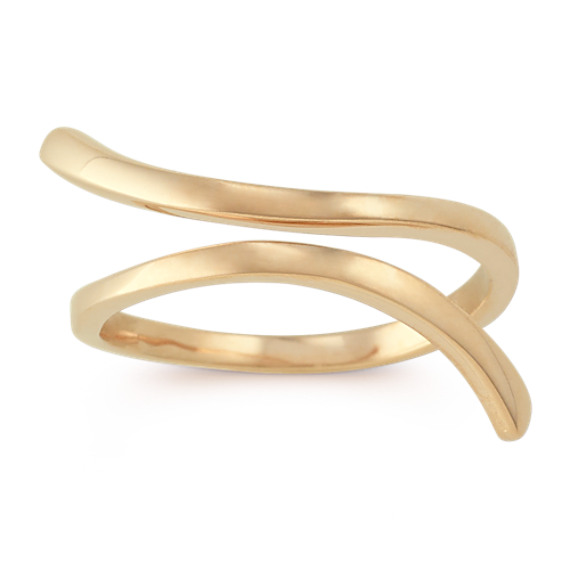 Swoop Ring in 14k Yellow Gold