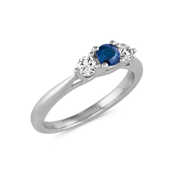 Jewelry & Watches Sporting Platinum Diamond And Pink Tourmaline Three-stone Ring In Short Supply