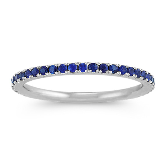 Traditional Sapphire Wedding Band