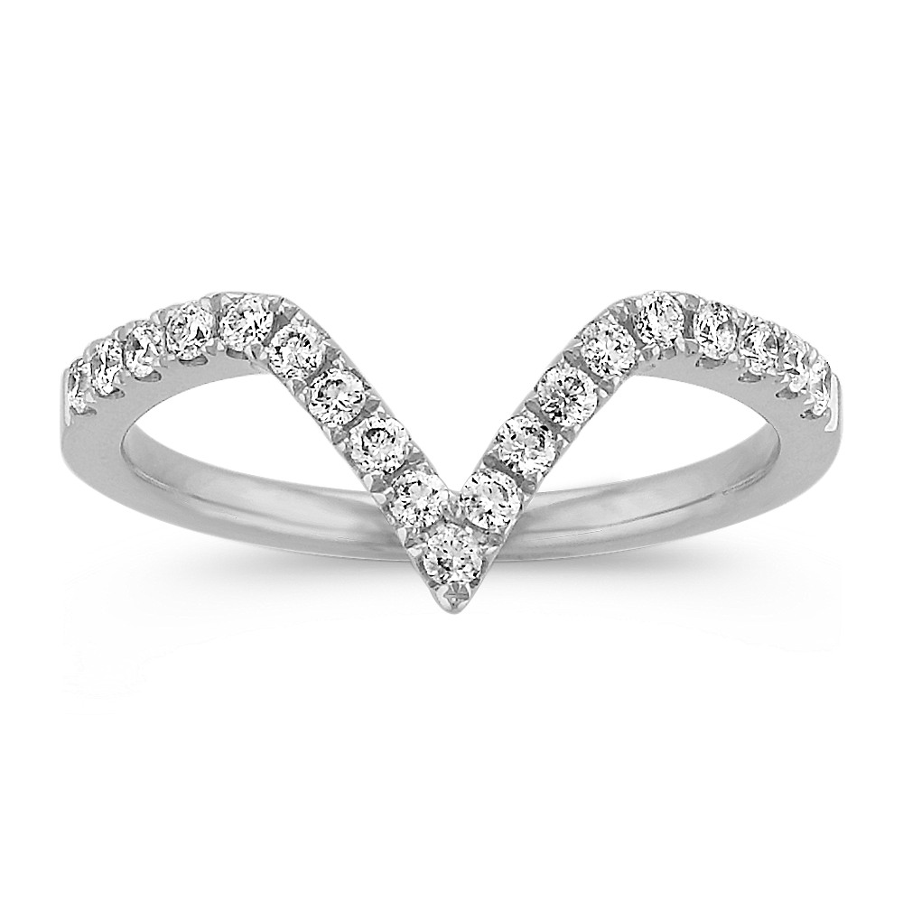 s contour shaped shape engagement bow wedding ring women rings