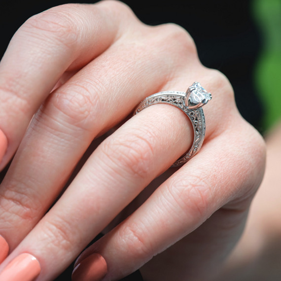 best antique vintage on rings pinterest engagement jewellery estate ideas ring jewelry