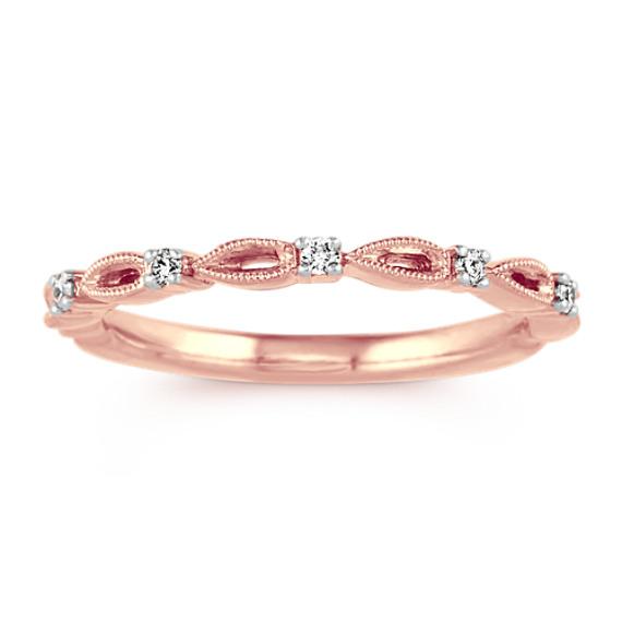 Vintage Round Diamond Ring
