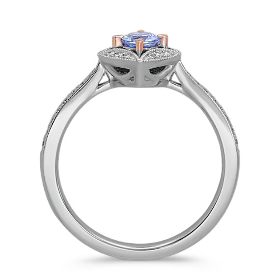 Vintage Sapphire and Diamond Ring image
