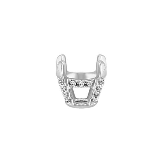 Diamond Pedestal Decorative Crown