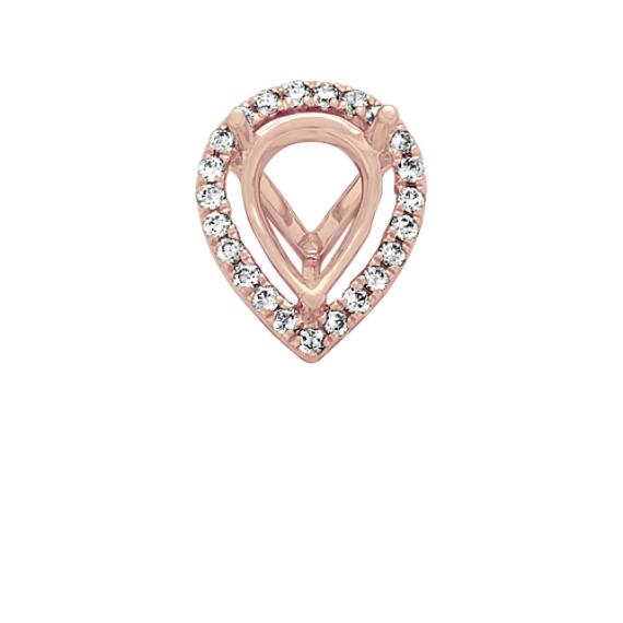Classic Diamond Halo Decorative Crown