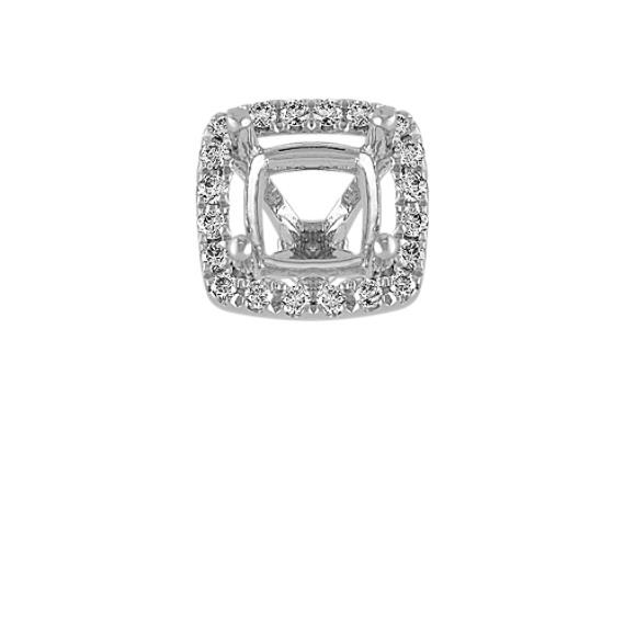 Diamond Halo Decorative Crown