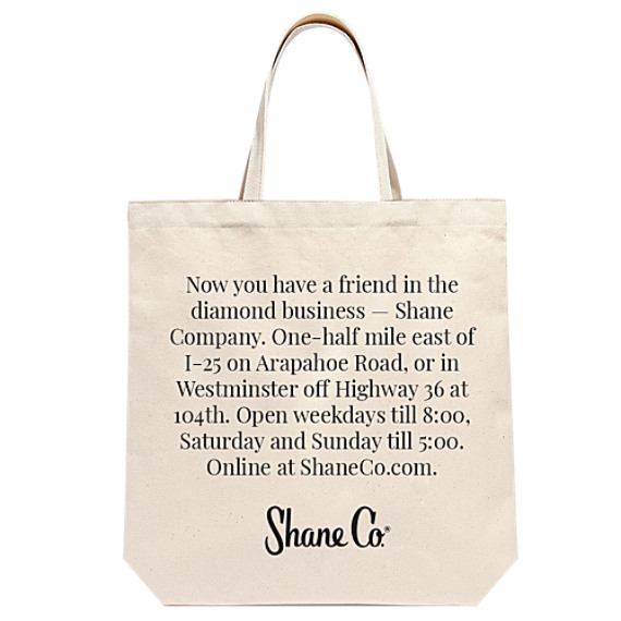 Add-on Item: Shane Co. Charitable Tote